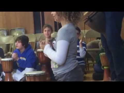 Passover Drum Program   We Will Rock You!