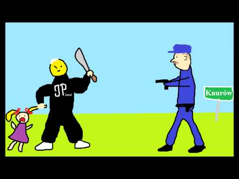 """Prace uczniów na konkurs """"Polska policja w moich oczach"""""""