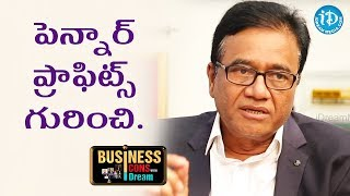 PV Rao About Pennar Profits || Business Icons With iDream - IDREAMMOVIES