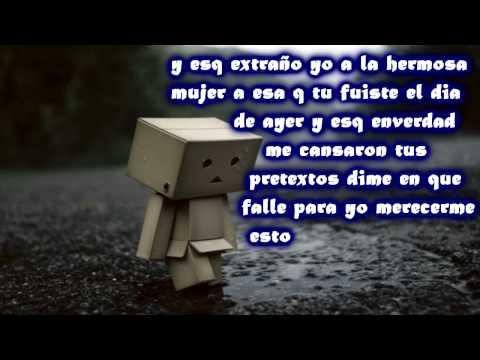 Que Nos Paso - Rap Romantico (2012) (letra)
