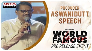 Producer Aswani Dutt Speech @ #WorldFamousLover Pre Release Event | Vijay Deverakonda - ADITYAMUSIC