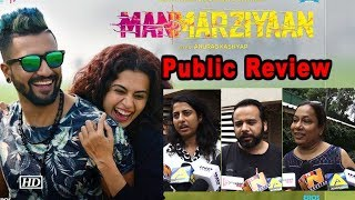 Manmarziyaan Public Review | Vicky-Taapsee-Abhishek's Love Triangle - IANSLIVE