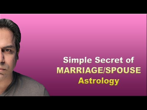 Marriage/Spouse Meeting circumstances in Astrology