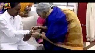 Telangana CM KCR Family Celebrates Raksha Bandhan | Mango News - MANGONEWS