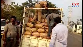 Police Seized Ganja Transport Vehicle in Bhadradri Kothagudem District | CVR NEWS - CVRNEWSOFFICIAL