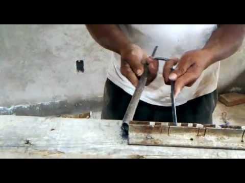 Tutorial, técnica ingeniosa para hacer estribos de alambron para construccion.