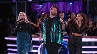 Ariana Grande, Meghan Trainor & Who Is Fancy Perform 'Boys Like You' (VIDEO) - HOLLYWIRETV