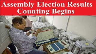Assembly Election Results 2018: Counting begins in MP, Chhattisgarh, Rajasthan, Telangana & Mizoram - NEWSXLIVE