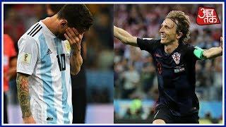 Croatia ने Argentina को हराया 3-0, फिर फीका पड़ा Messi का जादू | खबरें  सुपरफास्ट - AAJTAKTV