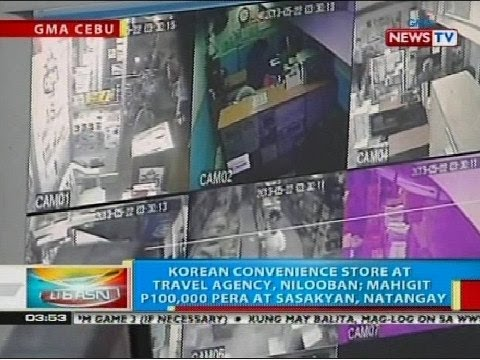 BP: Korean convenience store at travel agency sa Cebu City, nilooban