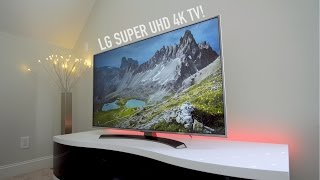 LG Super UHD 4K TV Review! (2016)