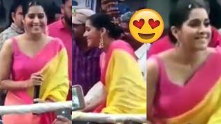 Jabardasth Anchor Rashmi Gautam spotted at Narasaraopeta | TFPC - TFPC