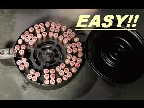 How  to load a 75rd AK Drum Magazine