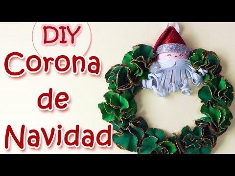Manualidades de Navidad - Corona de navidad . Christmas wreath