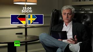 Experience matters: Jose Mourinho on upcoming match between Germany and Sweden - RUSSIATODAY
