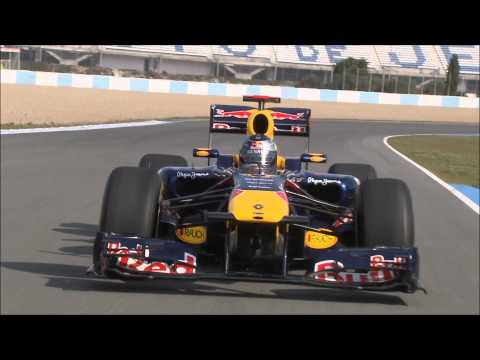 2011 Red Bull Racing F1-RB7 Track Footage/Sebastian Vettel 1080p