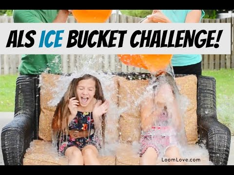 Loom Love Does ALS Ice Bucket Challenge #ALSIceBucketChallenge