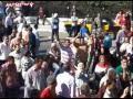 بالفيديو و الصور- العشرات يتظاهرون بالقائد إبراهيم لمنع الإخوان من دخول الميدان