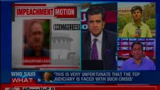 Opposition Vs CJI: Venkaiah Naidu rejects CJI impeachment move - NEWSXLIVE