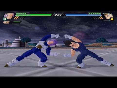 Trunks and Vegeta Fusion (Dragon Ball Z Budokai Tenkaichi 3 Mod)