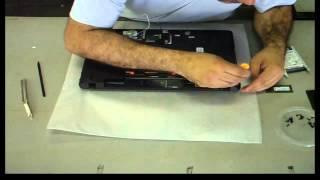 Desmontando notebook Acer Aspire E1-531-206 - Parte 1