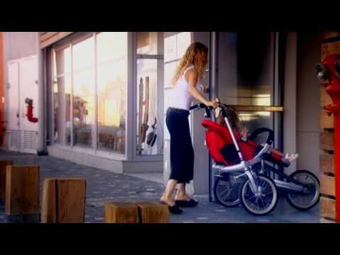 Детская коляска + велосипед = Taga рикша