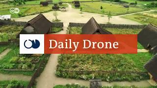 #DailyDrone: Lauresham Open-air Laboratory | DW English - DEUTSCHEWELLEENGLISH
