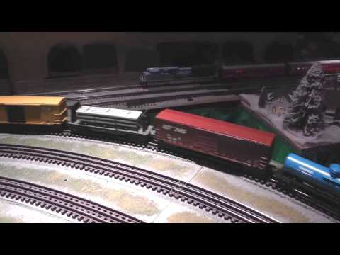 National Capital Trackers at the 2014 Manassas Candy Factory Train Show