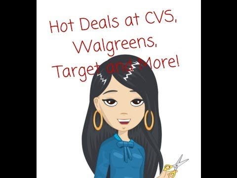 Hot Deals, Printable Coupons, Free & Cheap at Target, CVS, Walgreens & More 4/10
