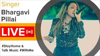 Singer Bhargavi Pillai LIVE Interaction With Fans | #StayHome & Talk Music #WithMe - MANGOMUSIC