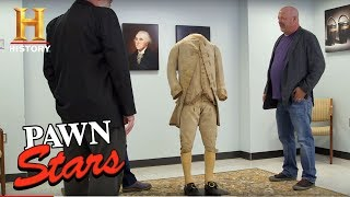 Pawn Stars: George Washington's 3-Piece Suit (Season 15) | History - HISTORYCHANNEL