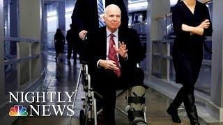 Sen. John McCain Hospitalized During Critical Week For Congress | NBC Nightly News - NBCNEWS