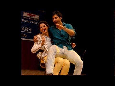 Varun Dhawan Gives Lap Dance To Nargis Fakhri !
