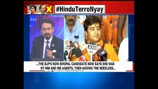 Karma for Hemant Karkare attack, Sadhvi Pragya Thakur apologizes | Nation at 9 - NEWSXLIVE