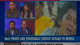 """Charter against pak: Will give befitting reply to Pakistan """"We will not forget', says RK Singh - NEWSXLIVE"""