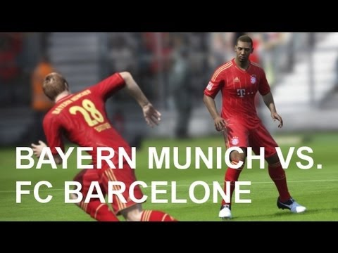 Bayern Munich vs FC Barcelone - FIFA 13 Prono