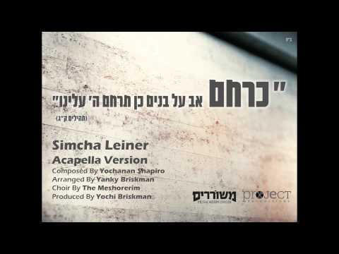 Keracheim Acapella | Simcha Leiner (ft. Meshorerim Choir) | כרחם | שמחה ליינר