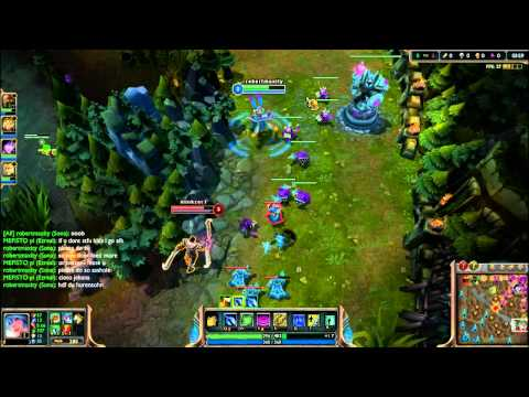 Lets Play League of Legends (LoL) [German] Round 011 Part 1 - Heute mit Trollern -.-
