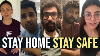 Tollywood Celebrities About Coronavirus Preventive Measures | Stay Home Stay Safe - TFPC
