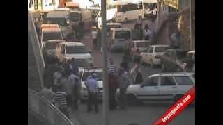 Bitlis'te Mobese Kameralarına Takılan Kazalar