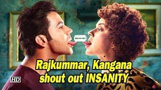Mental Hai Kya | Rajkummar, Kangana shout out INSANITY | New Poster OUT - BOLLYWOODCOUNTRY