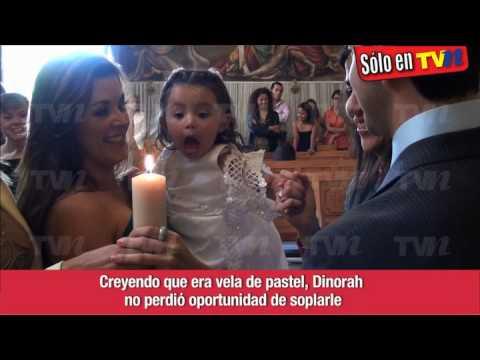 Alicia Machado - Bautizo de su hijita