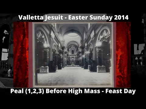Valletta (Malta) Church Jesuit - 1 PEAL - 3 Bells 2014 - Item 1