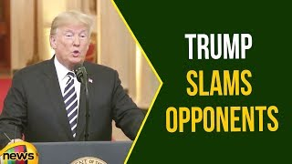Donald Trump slams opponents at Brett Kavanaugh Ceremony | Trump Latest Speech | Mango News - MANGONEWS