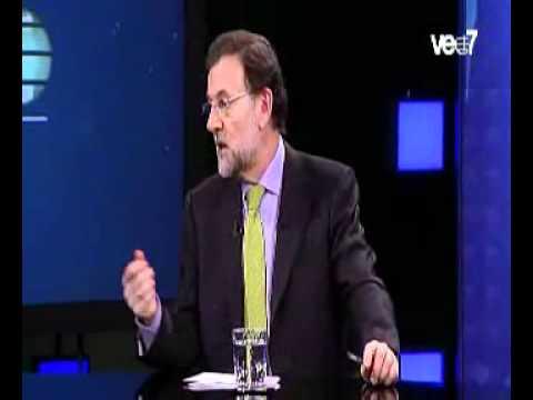 Rajoy en Veo 7.
