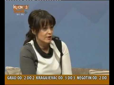 07 12 2012 Direktorka Blumen group Natasa Pavlovic Bujas na TV Svet plus
