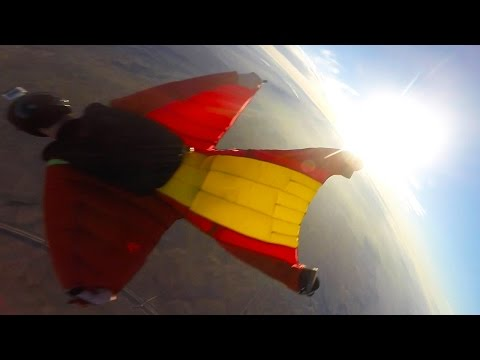 Friday Freakout: SUPER Close Call In A Wingsuit