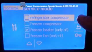 Ремонт холодильников Gorenje    модель RK 6736