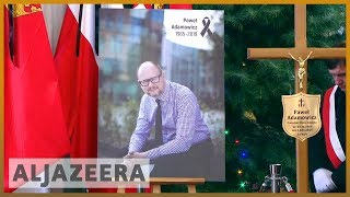 🇵🇱 Pawel Adamowicz: Thousands turn out for funeral of Polish mayor | Al Jazeera English - ALJAZEERAENGLISH