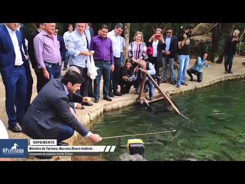 Ministro do Turismo lança em Bonito programa para geração de empregos e renda no MS